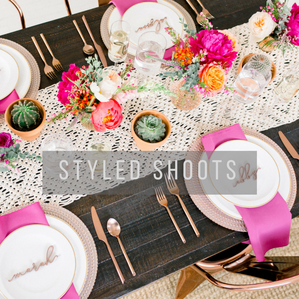 Pittsburgh Wedding Planner Styled Shoots