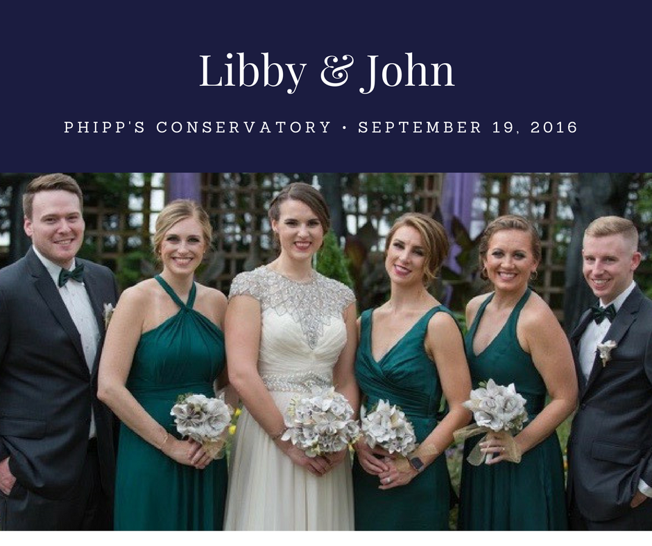 Wedding Planner Phipps Pittsburgh