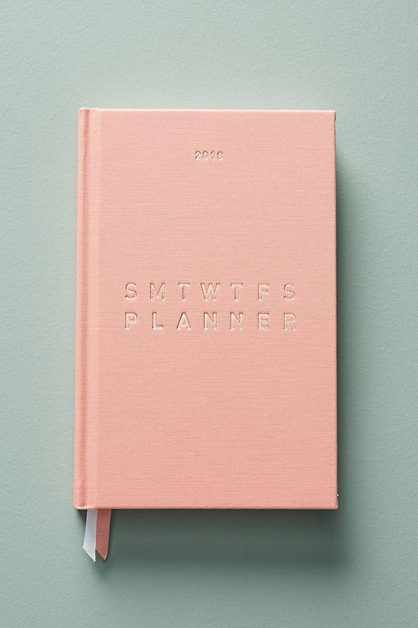 2018 Weekly Planner - $25.00