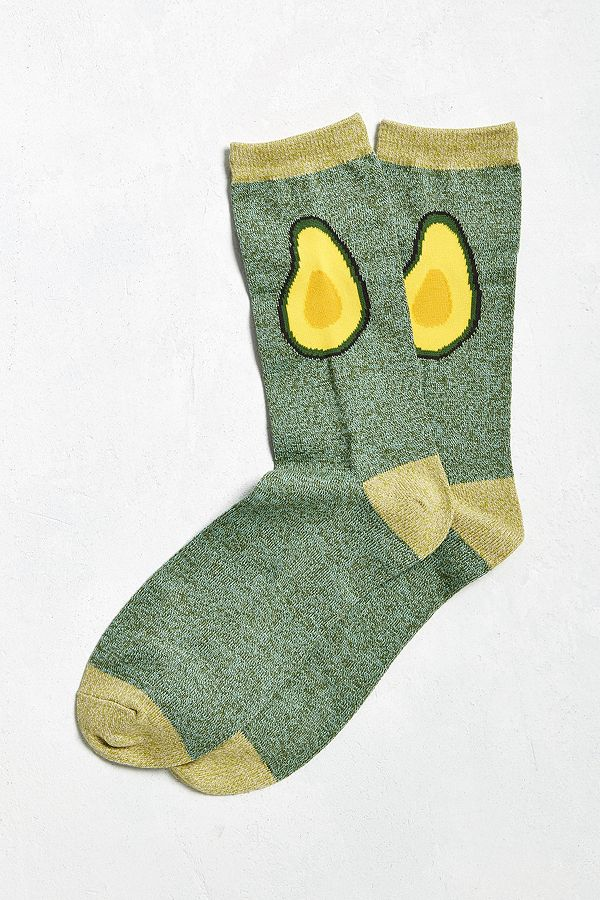 Avocado Halves Sock - $8.00