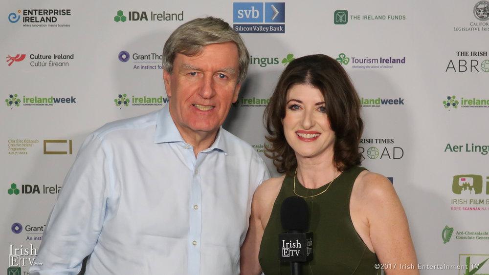 Dan Mulhall, Ambassador of Ireland to the USA, Brigid Boden