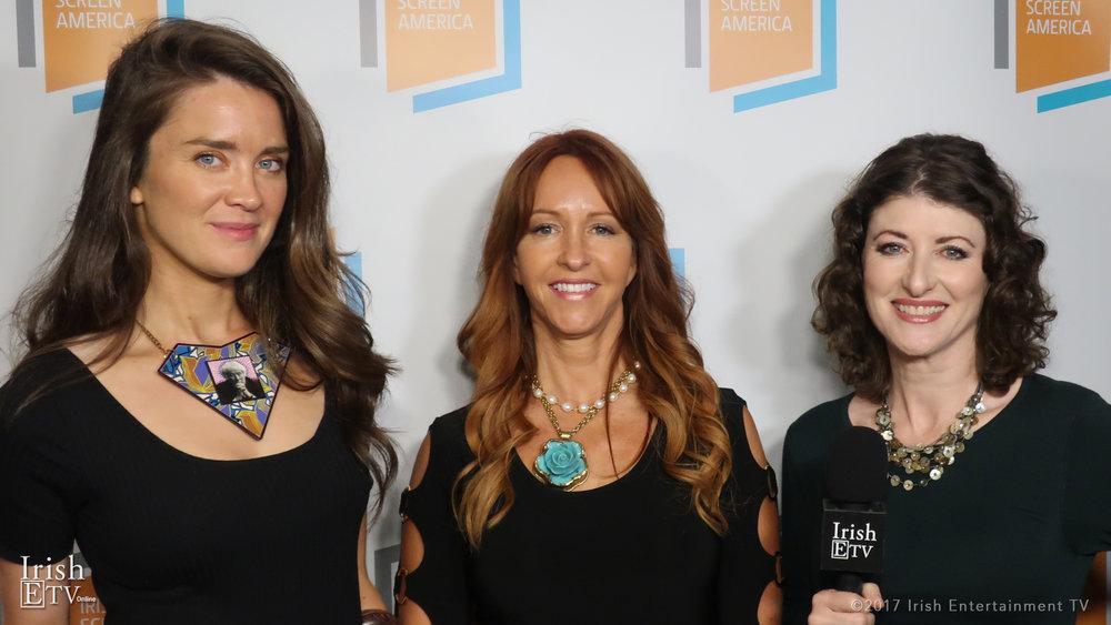 Linda Bhreathnach, Marina Donahue, Brigid Boden