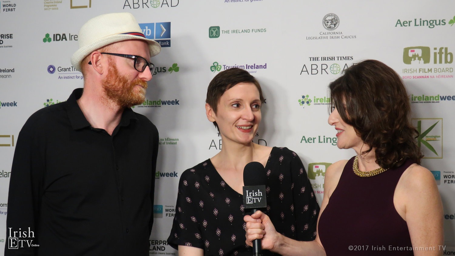 Paul Young and Nora Twomey, Co-Founders of Cartoon Saloon, chat with