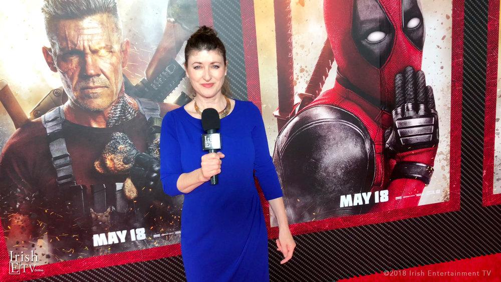 Brigid Boden (Deadpool 2 Premiere)