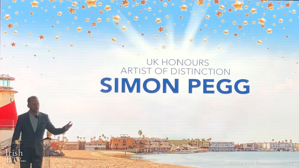 Simon Pegg Honoured at NBFF