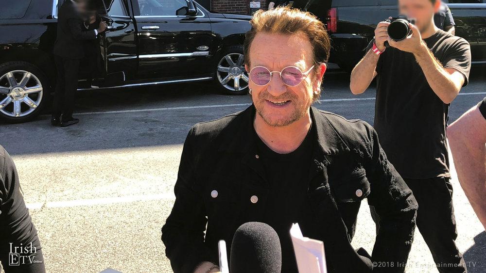 Bono, IrishETV