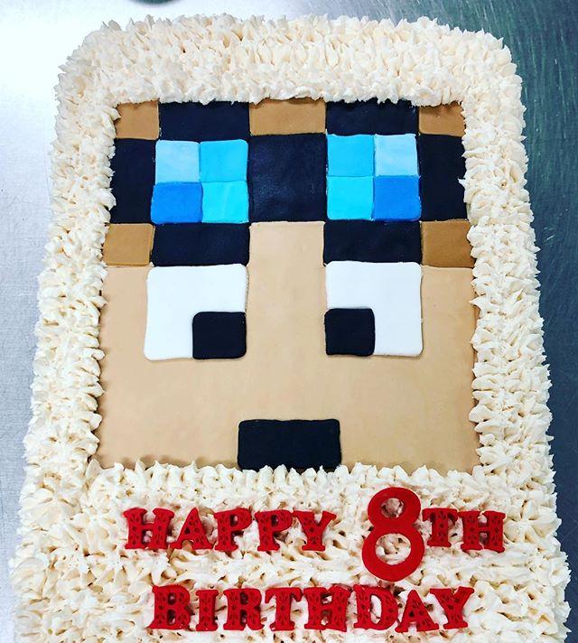 #cakeachance #miramichi #cake #minecraft #minecraftcake #birthdaycake #fun #minecraftmemes #8thbirthday