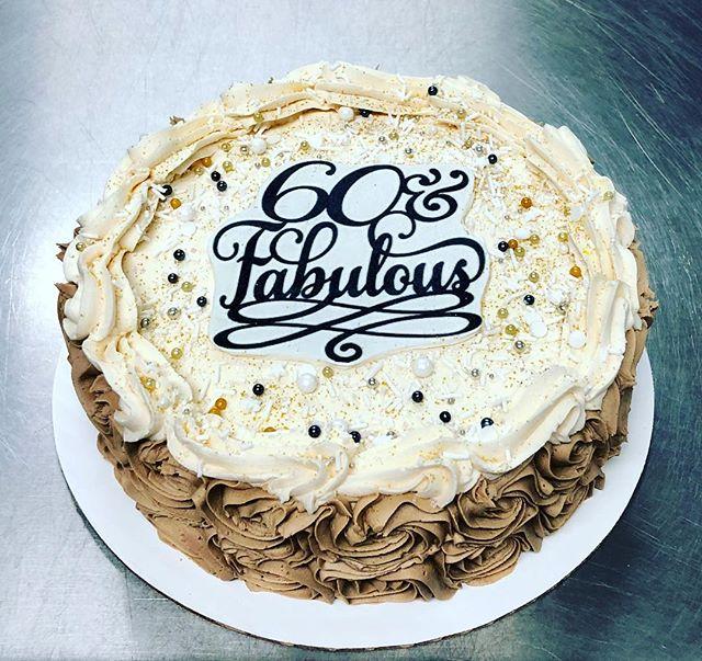 #cakeachance #miramichi #60thbirthday #60th #60andfabulous #earthquakecake #yummy