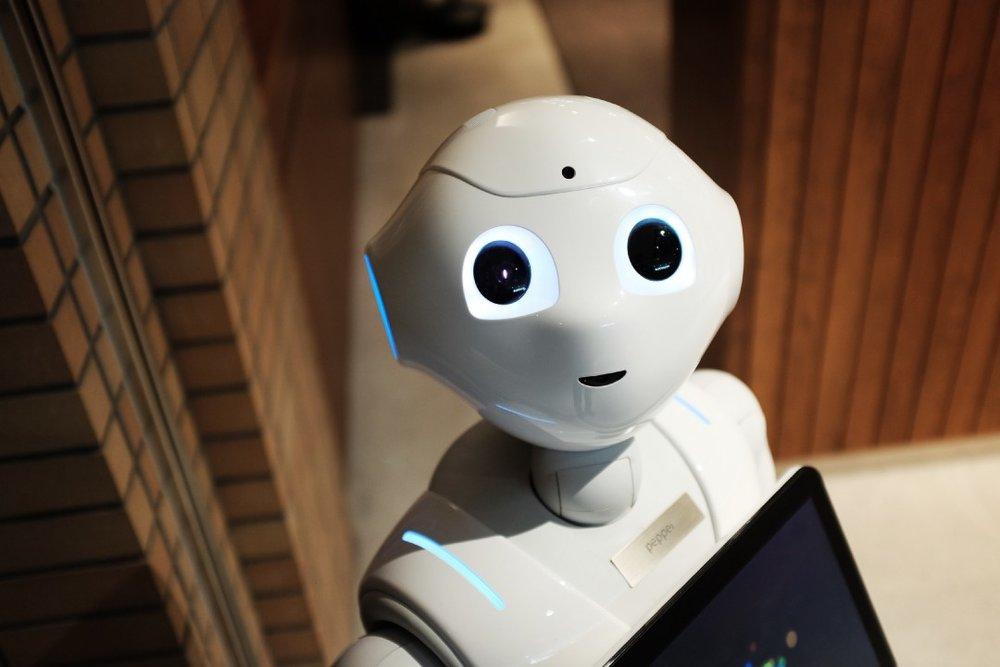 Pepper, the Humanoid Robot . Photo source:  Alex Knight, unsplash.com