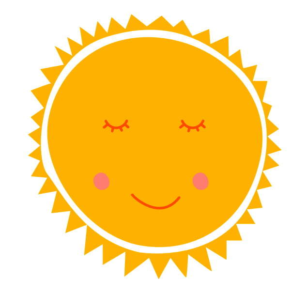 de zon!