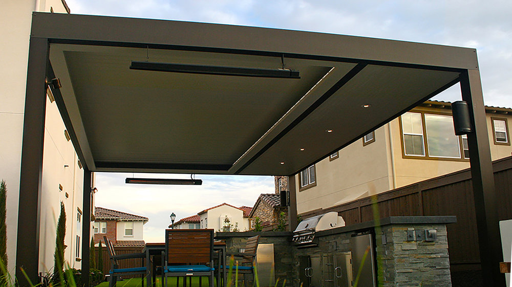 Residential Gallery-outdoor home kitchen dining pergola closed with heater.jpg