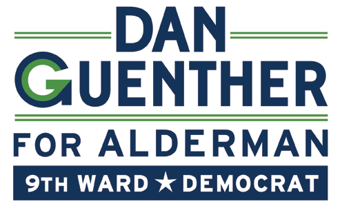 Dan Guenther for 9th Ward Alderman