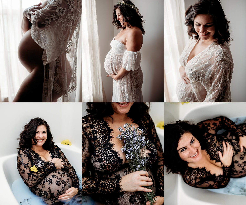 3bfa0262c91 Maternity Boudoir   Milk Bath Session - Hope Mills