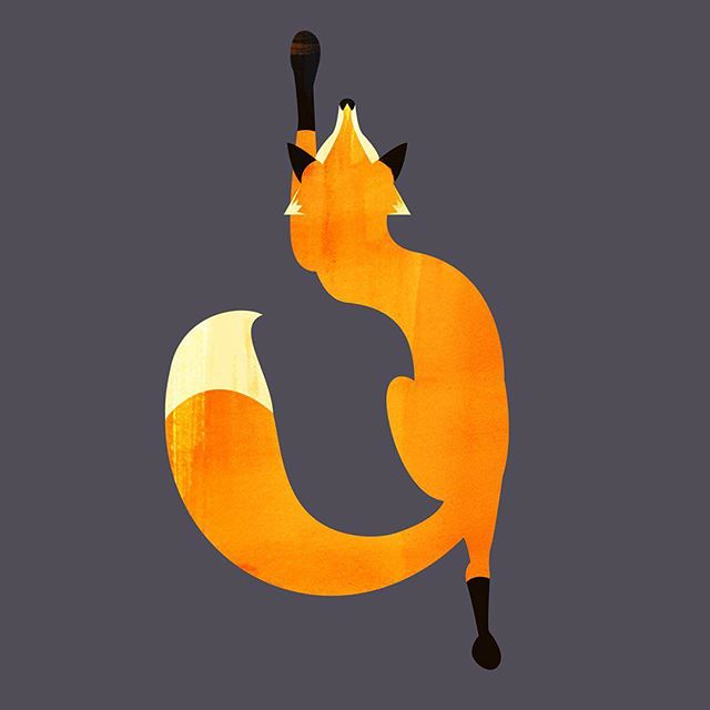 A shapely Friday fox!⠀ ⠀ An image from that somehow I had never posted here.⠀ .⠀ .⠀ .⠀ .⠀ #fox #animal #grey #orange #nature #wildlife #friday #illustration #instagood #instaartist #instaart #graphic #art #artwork #digitalart #digital #artist #illustrator #design #draw #creative #adobe #wacom #shapes #colour #designspiration #picame #graphicgang #ballpitmag #visualsnack