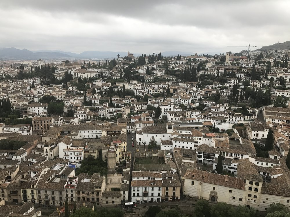This could literally be any southern European city, but is Granada, Spain.