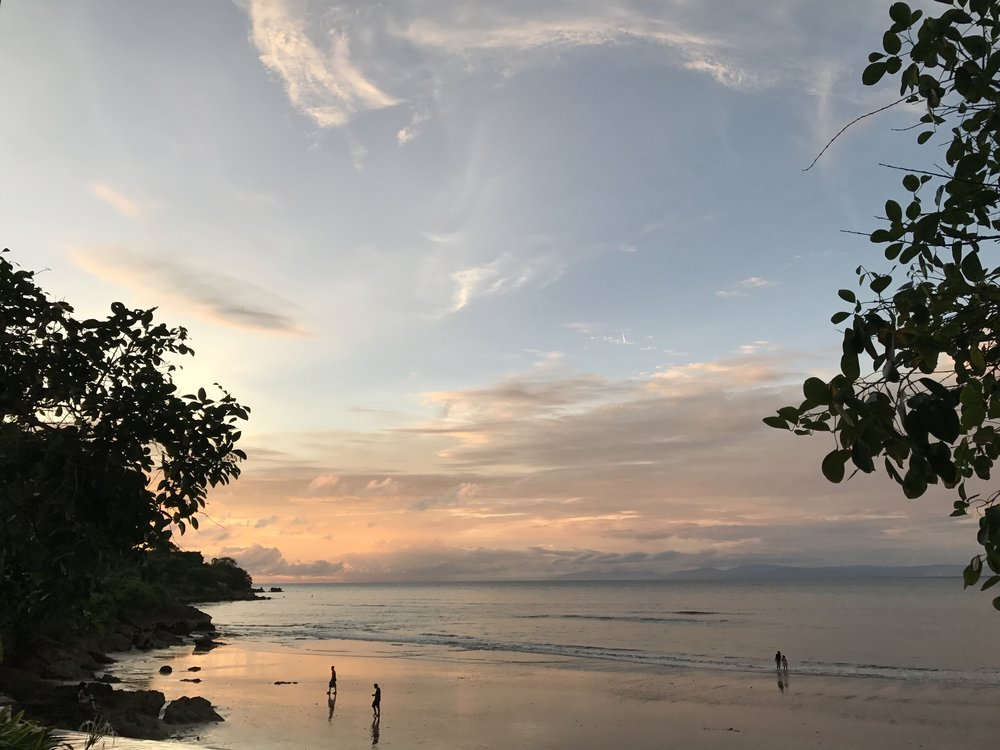 This could be a generic stock photo of a sunset! But also maybe I took it in Bali. What is reality anyway???