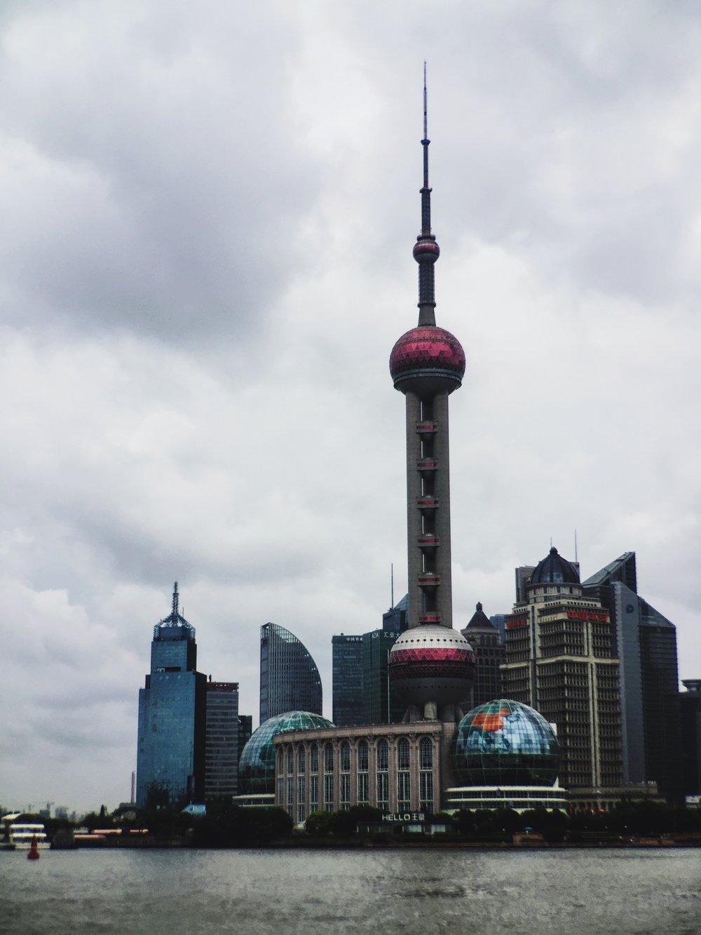 The McHowe World Tour - The Bund, Shanghai, China
