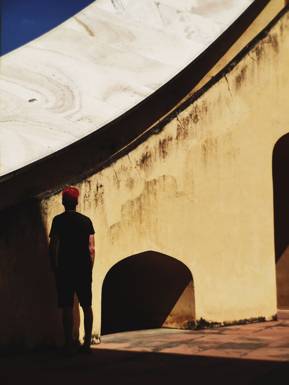 The McHowe World Tour - Part II- Jaipur the Pink City - Jantar Mantar Observatory