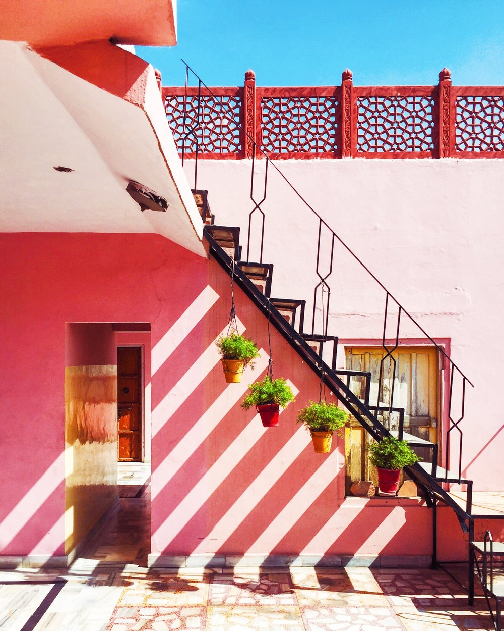 The McHowe World Tour - Part II- Jaipur the Pink City - Guest House
