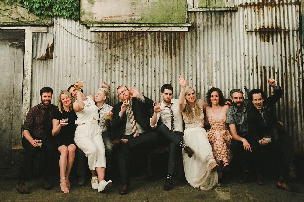 HOWE ABOUT FOREVA - Vancouver urban woodshop wedding by Shari + Mike photographers