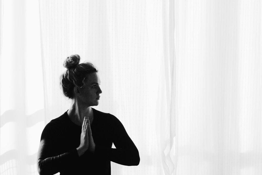 Namaste In Bed - My Yoga Challenge - Week 1
