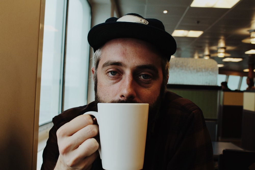 kyle's a pot of coffee a day kind of dude + this is a one-cup-in face.  i see this face a lot.