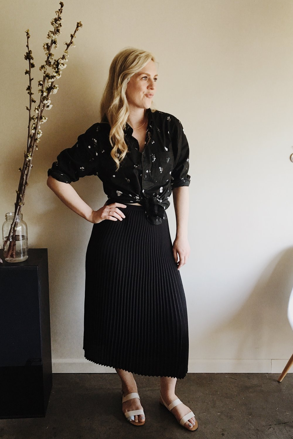 a month of Sundays in my Jude skirt