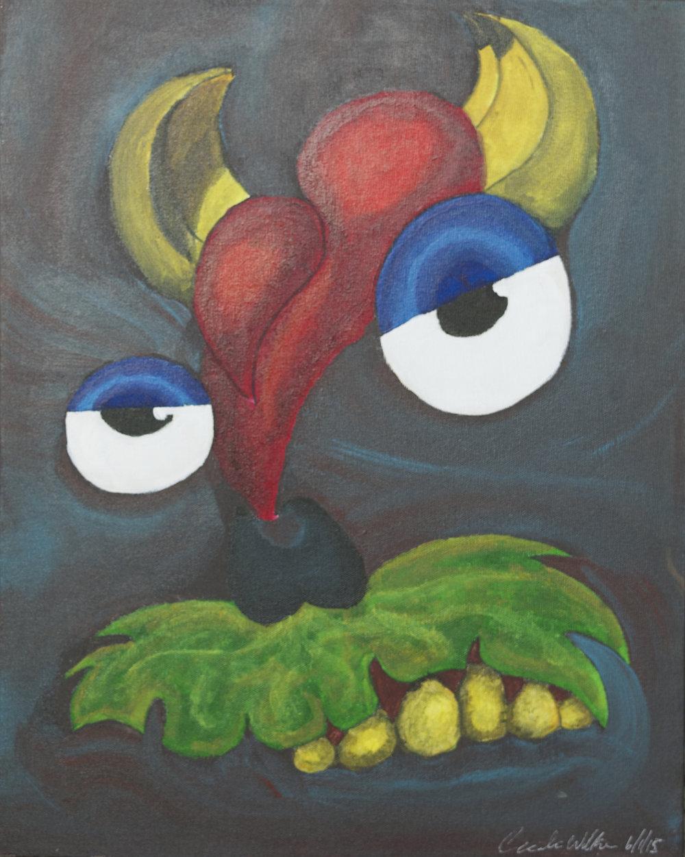 """""""MOOD"""" 16x20, Acrylic on Canvas"""