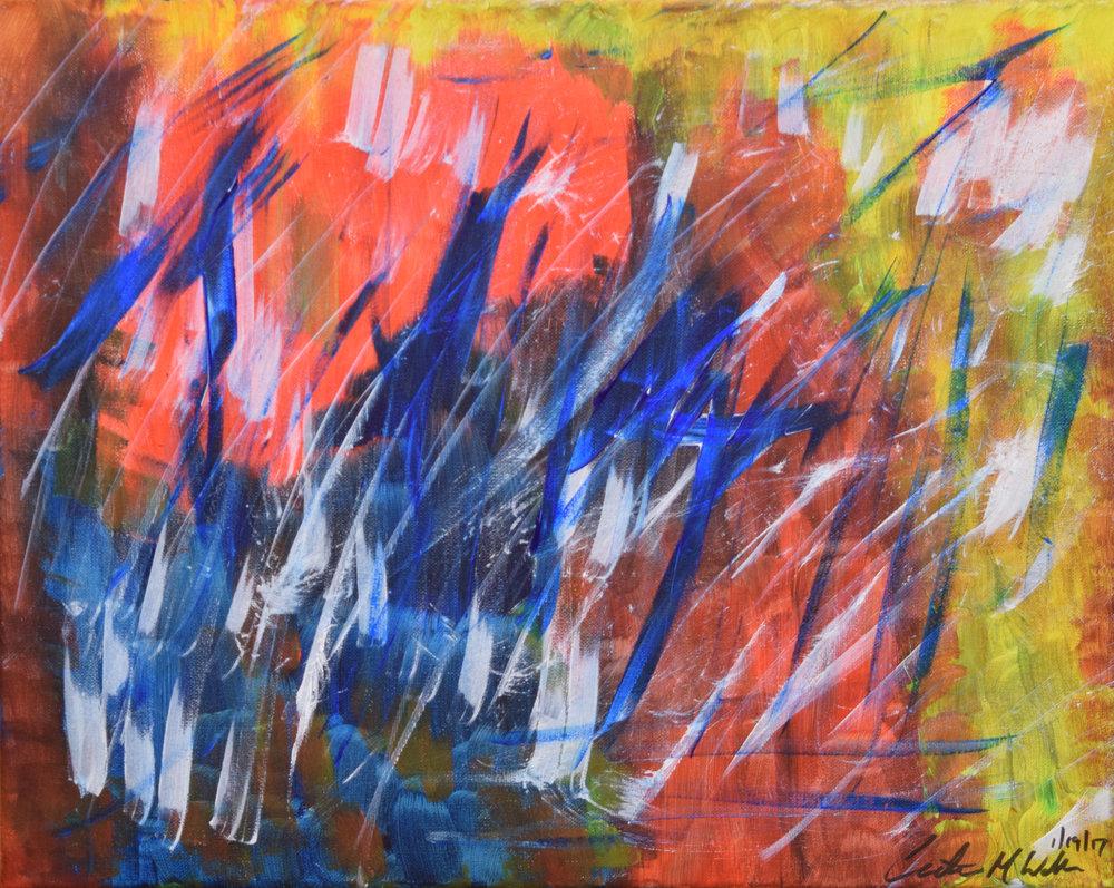 """MISCHIEVOUS"" 16x20, Acrylic on Canvas"