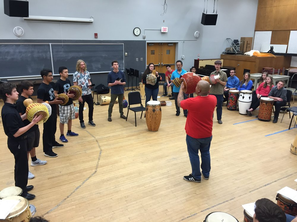 Rehearsal Hall for Percussion Ensemble