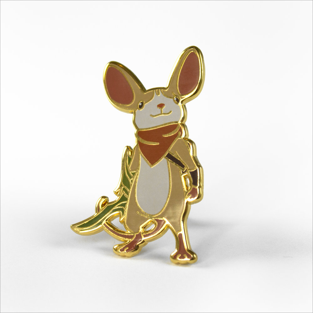 SOLD OUT - Quill Pin - Limited Edition