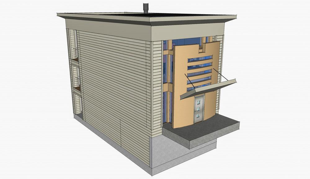 Lux Apartments: Model -- Unit concept entry