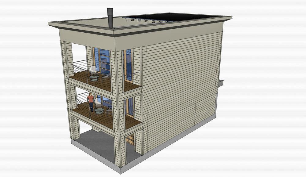 Lux Apartments: Model -- Unit concept ocean elevation
