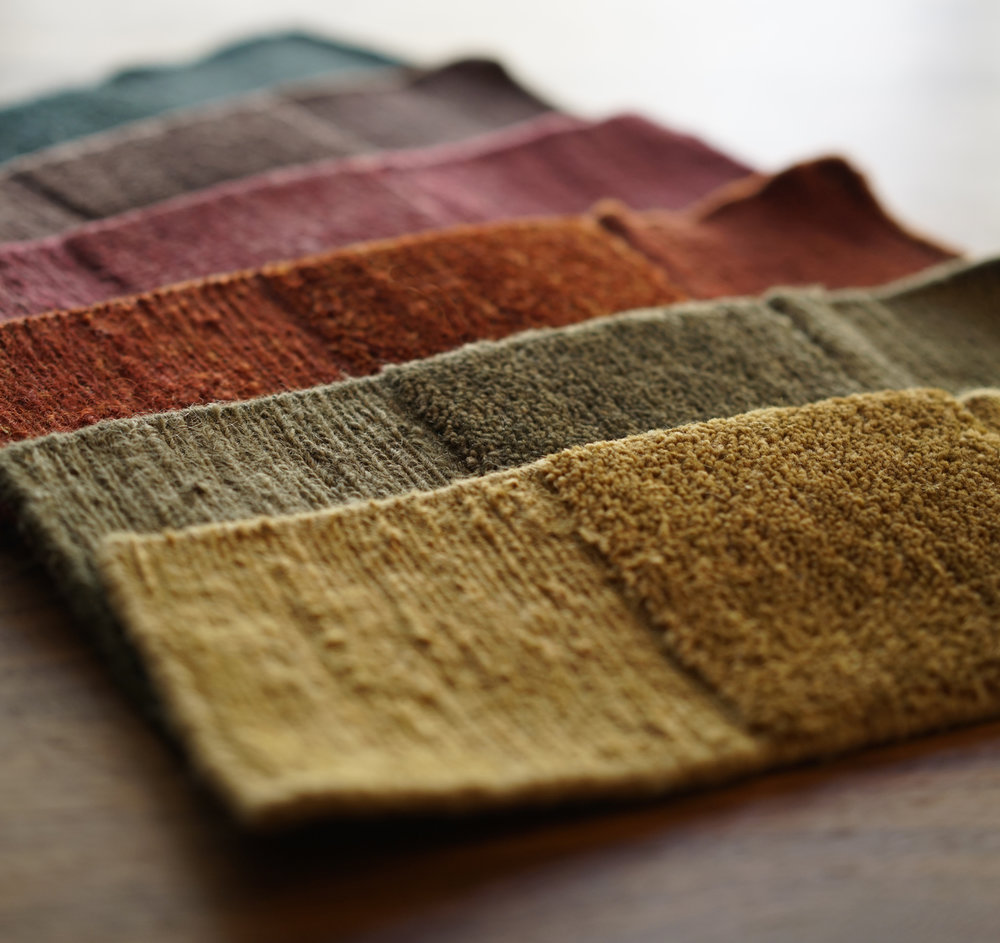 Lapchi Texere rug samples