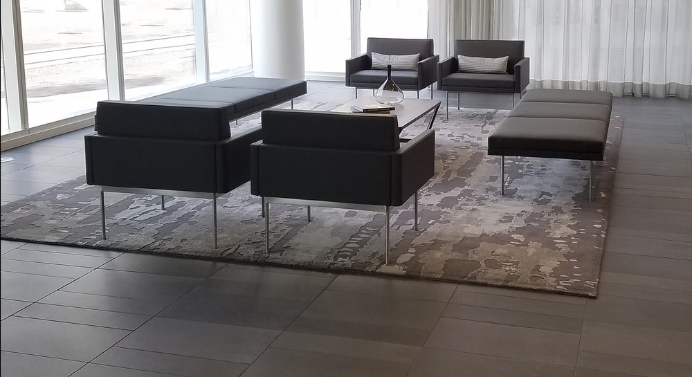 Designer: Bora Architects Location: Cosmopolitan Building, Portland Rug Design: Dapple