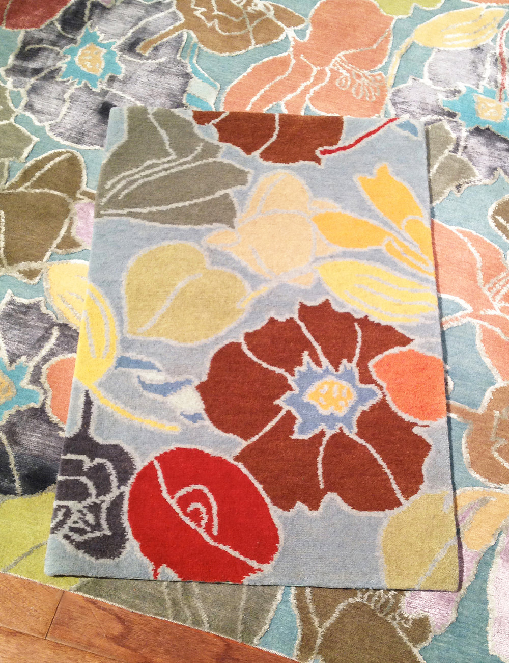 Best Flower rug, Milton Glaser for Lapchi
