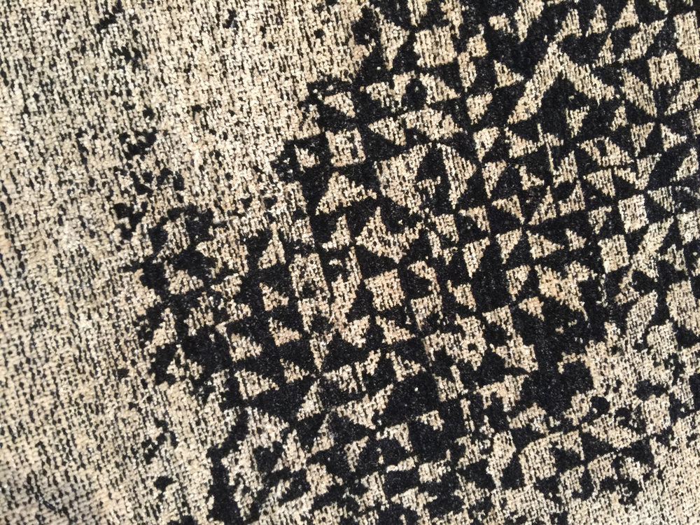 A closer look at the pattern detail of Pattern Mix No. 5.