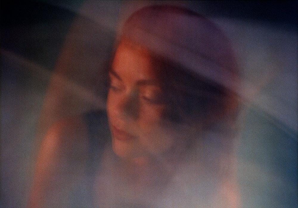 Amy (this one's a happy mistake) - Kodak Portra 400