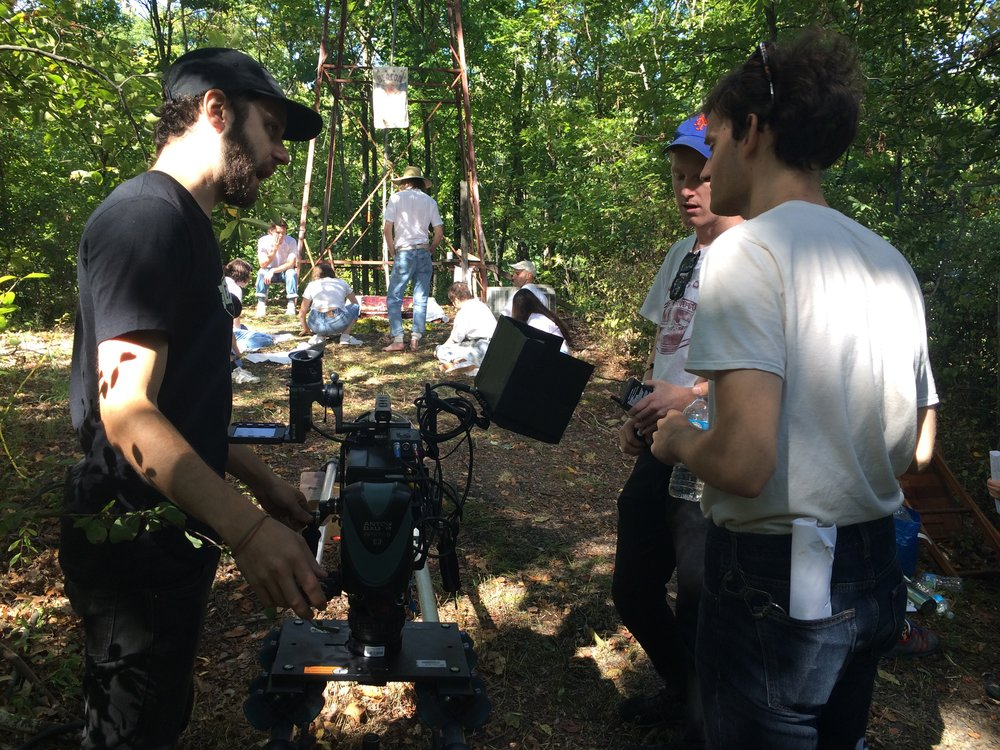 """""""On Earth"""" with Director Ryan Schnackberg and 1st AC Stephen Mucci"""