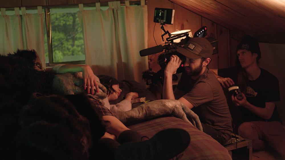 """Road Head"" music video with Michelle Zauner & 1st AC Logan Quarles"