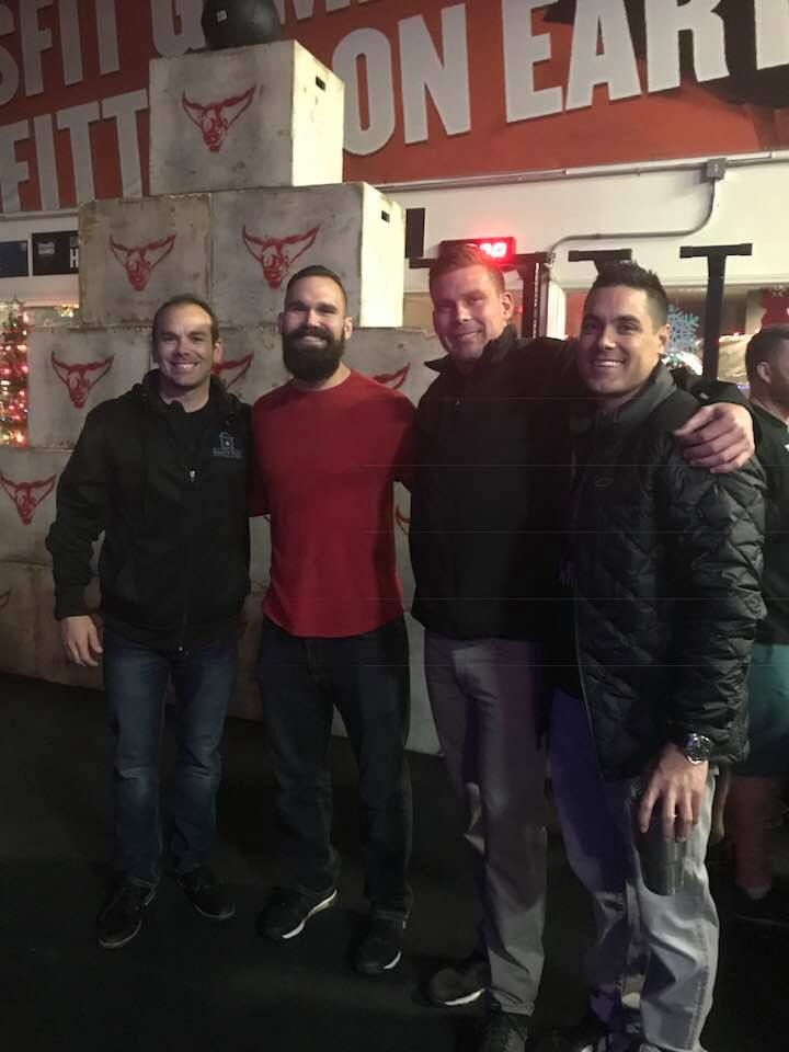 Wes, Shane, Jon and Shad - CFO Christmas Party 2017