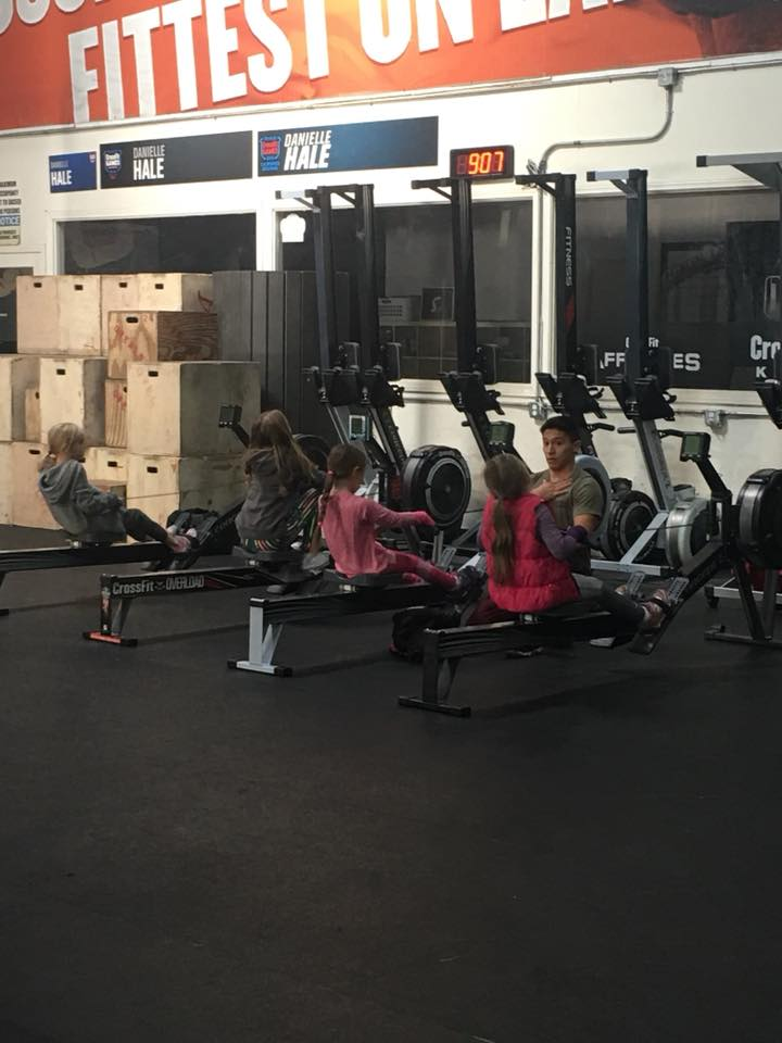 We have CF Kids!! 5-9yo.  Monday 4pm and Saturday 9am. Free if parent is a paying member, $5.00 drop in for everyone else (you can pay for class on MindBody Online).