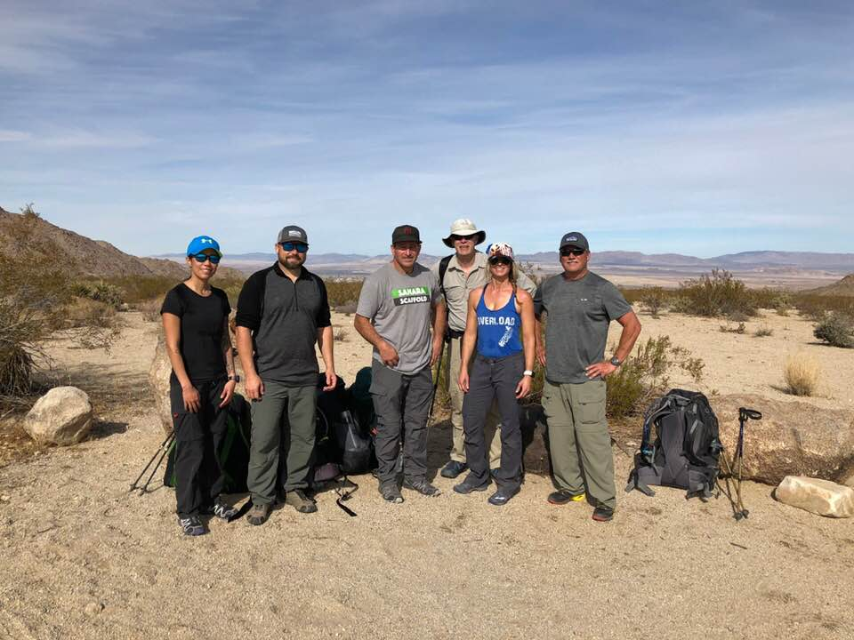 Congratulations to this incredible group for completing the Joshua Tree Challenge and thank you Dustin for leading! Looking forward to the next expedition!