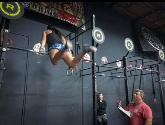 Devyn Kim getting 18.3 done!    Photo Credit: Jordan Gravatt