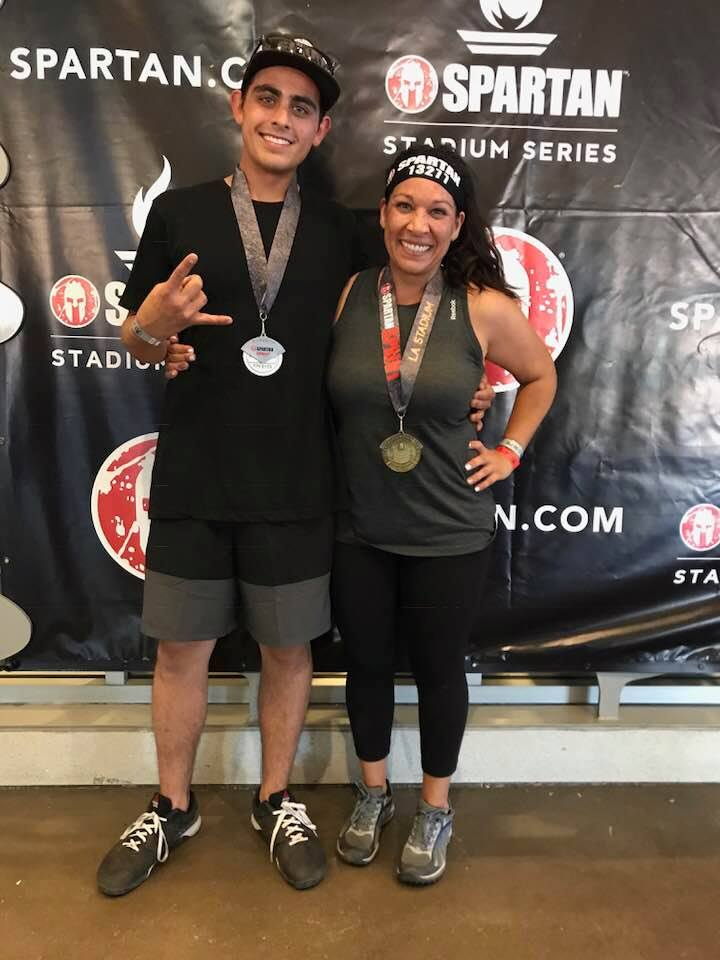 Congratulations to Adrienne and her son Jacob for competing in a Spartan Sprint this past weekend!