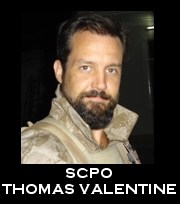 Senior Chief Petty Officer Thomas J. Valentine, 37, of Ham Lake, Minnesota, died in an accident while conducting parachute training operations in Casa Grande, Ariz., on February 13, 2008.