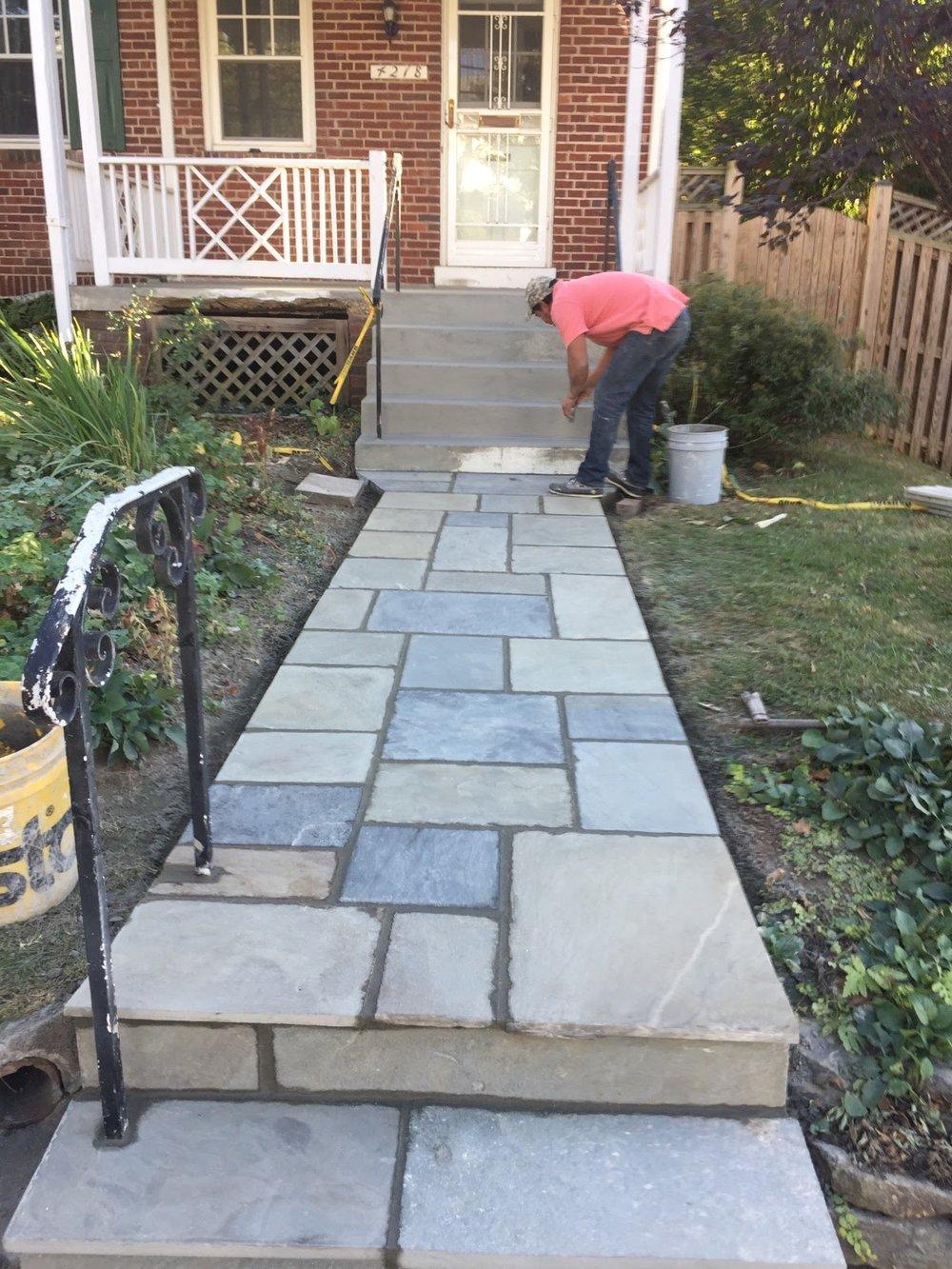 Residential Flagstone & Concrete