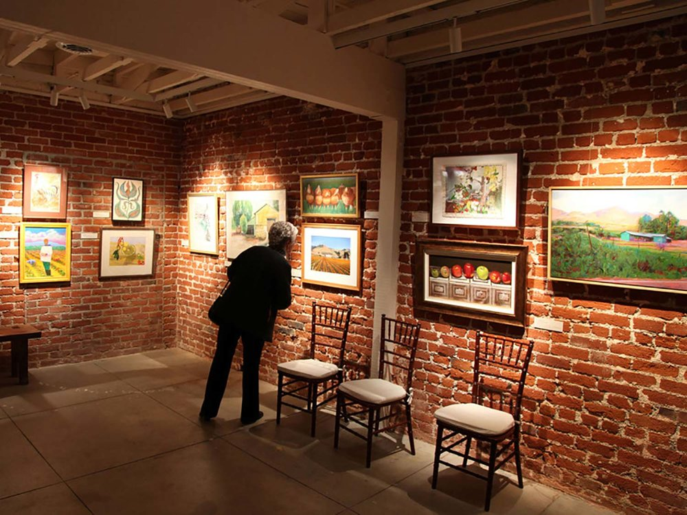 Douglas Shively Memorial Gallery at the Santa Paula Art Museum