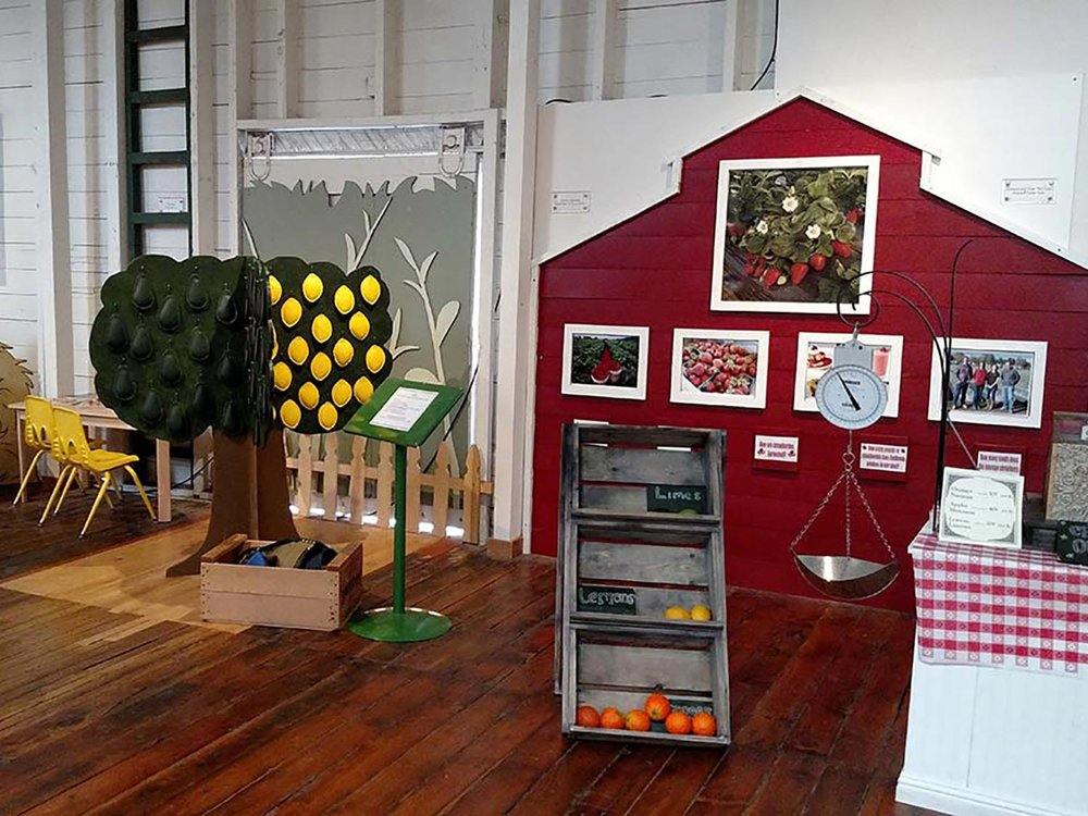 Interactive Kids Activity Station at the MVC Agriculture Museum