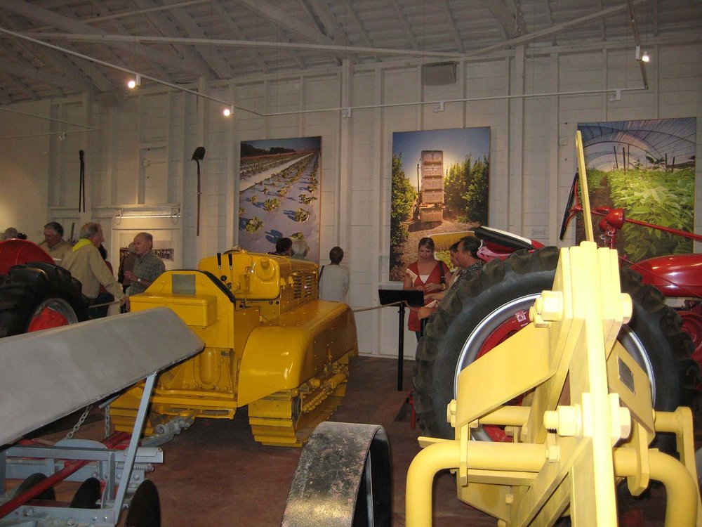 Farming Implements at the MVC Agriculture Museum
